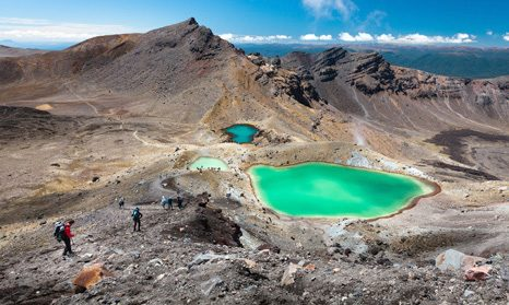 Tongariro Crossing Nový Zéland