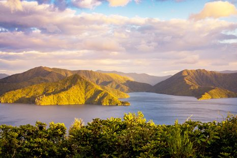 Marlborough Sounds Nový Zéland