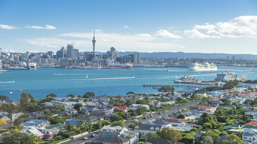Auckland Nový Zéland