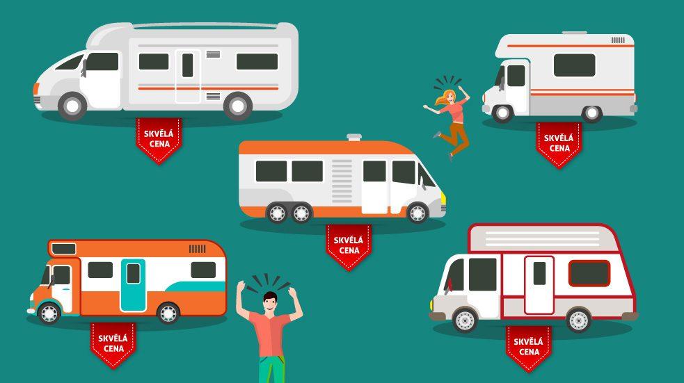 pronájem karavanů Nový Zéland
