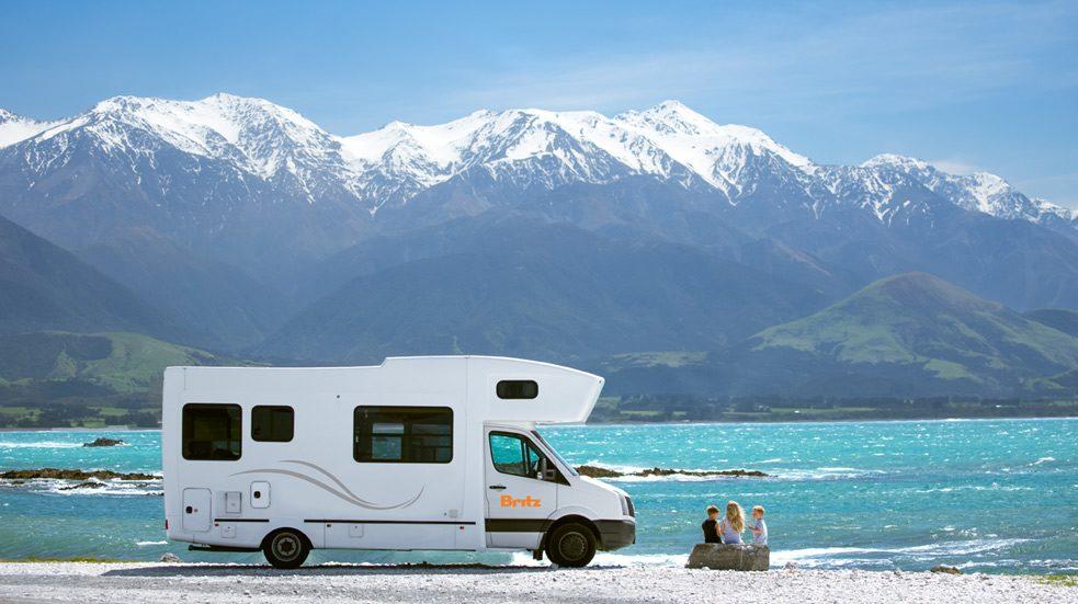 Pronájem obytných vozů Nový Zéland