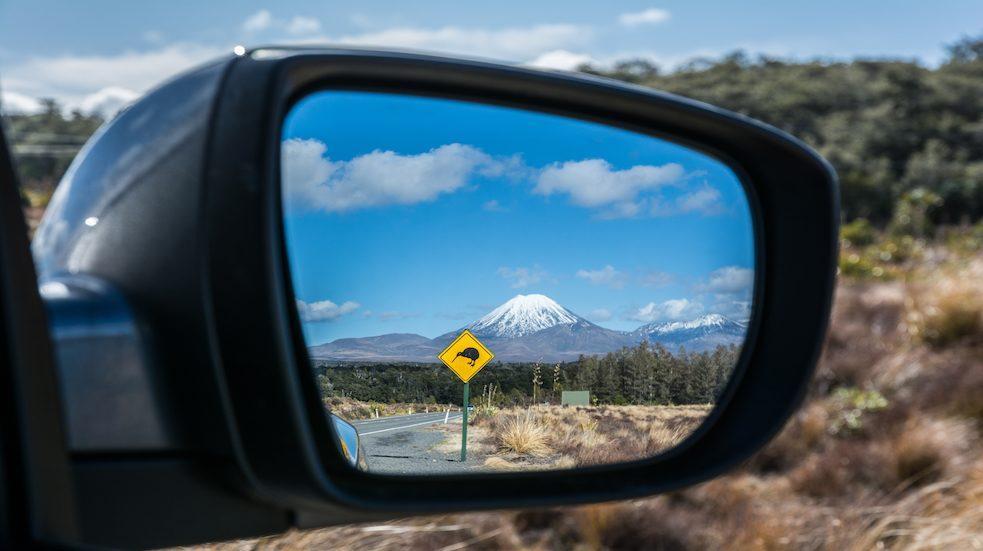 Půjčení auta Nový Zéland