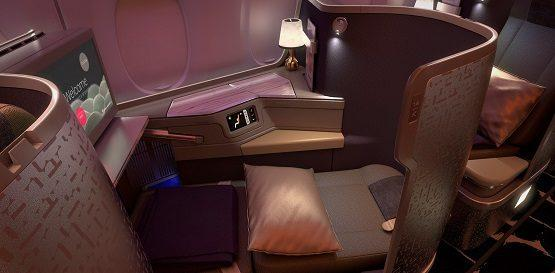 China Airlines business