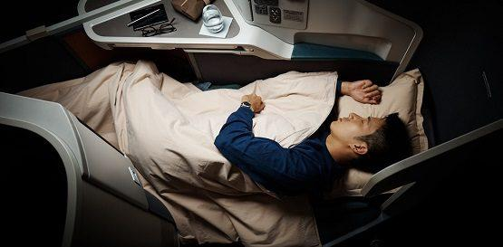 Cathay Pacific - business class