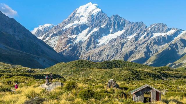 Dovolená Nový Zéland