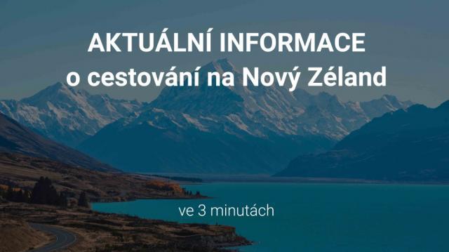 Travel akademie Nový Zéland