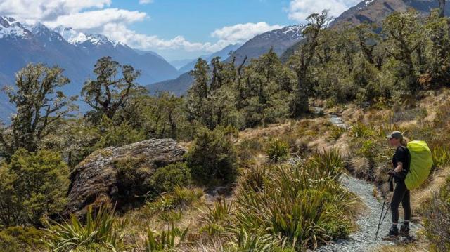 Horské přechody a treky na Novém Zélandu