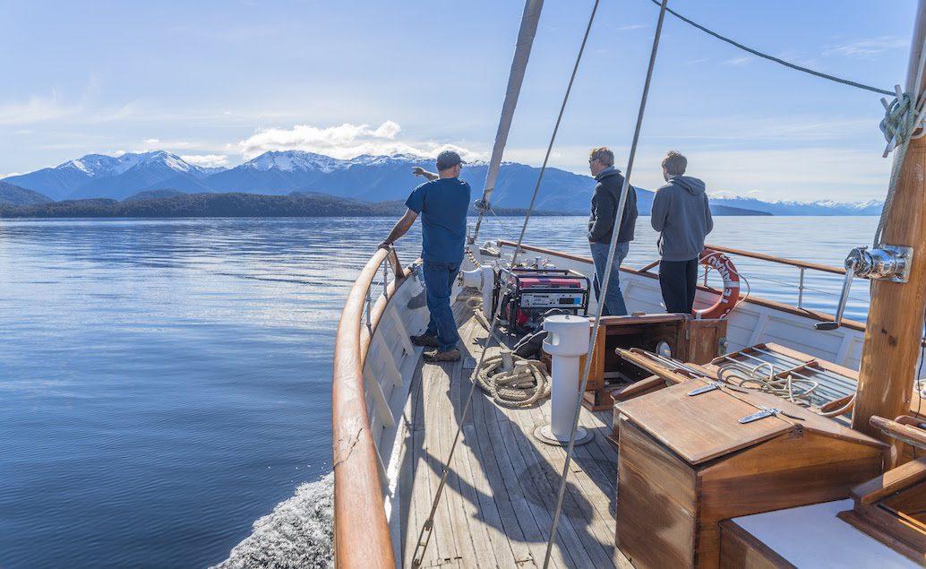 Plavba historickou lodí Faith