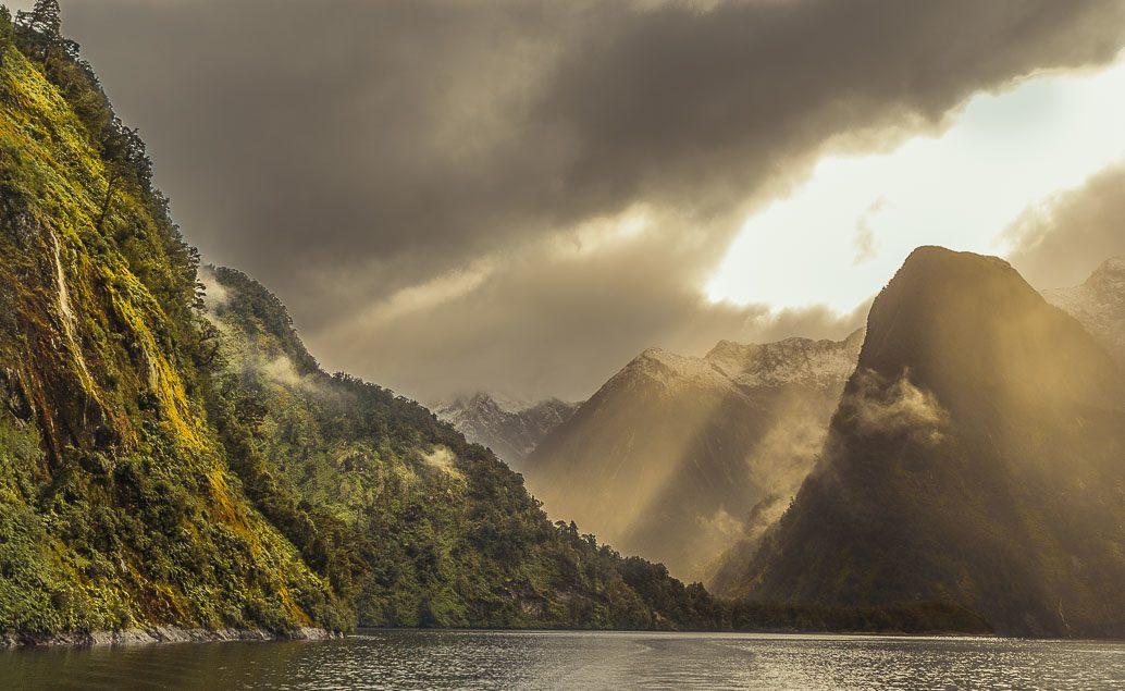 Dvoudenní plavba po Doubtful Sound