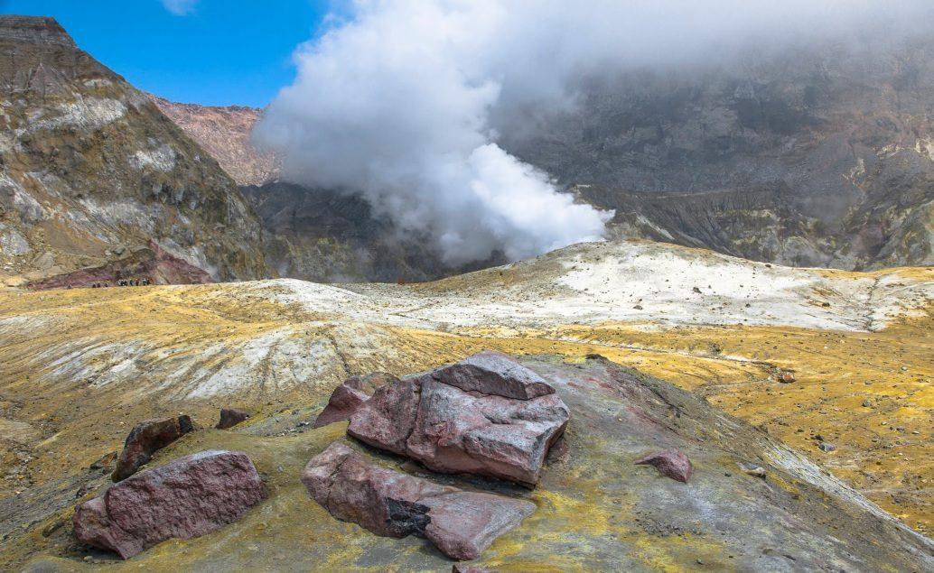 Výlet na aktivní vulkán White Island