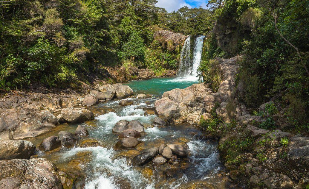 Pán prstenů Nový Zéland Glumovo jezírko