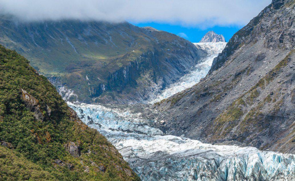 Pán prstenů Nový Zéland Ledovce