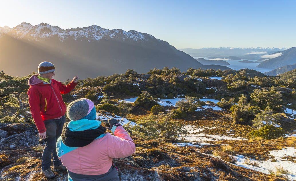 Vrtulníkem do Národního parku Fiordland