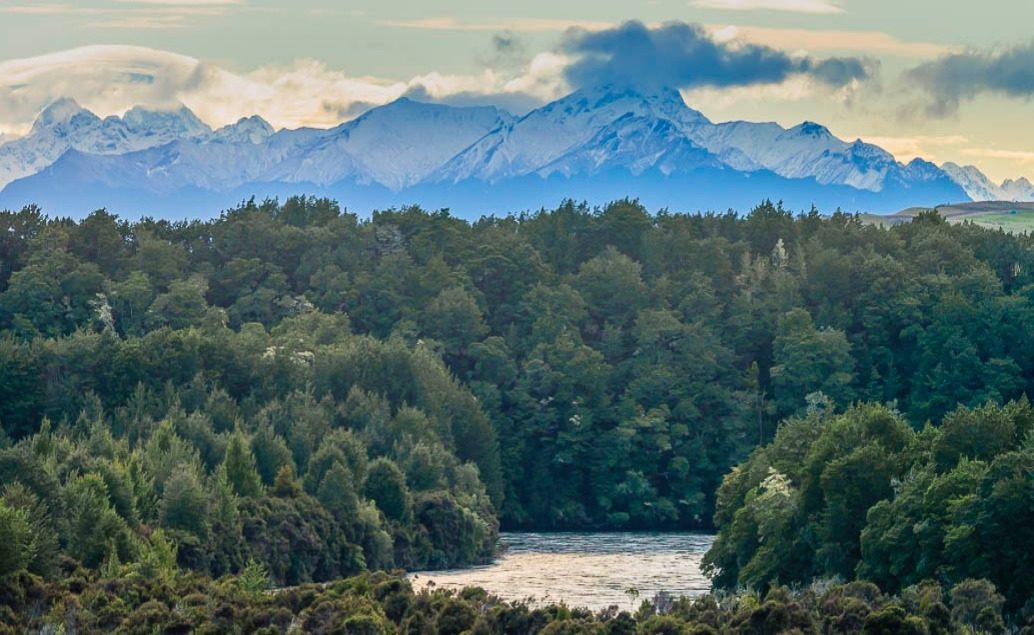 Pán prstenů Nový Zéland Waiau River