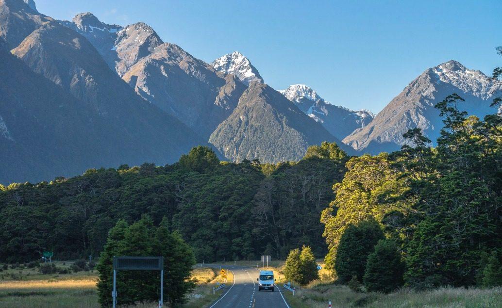 Pán prstenů Nový Zéland Eglinton Valley