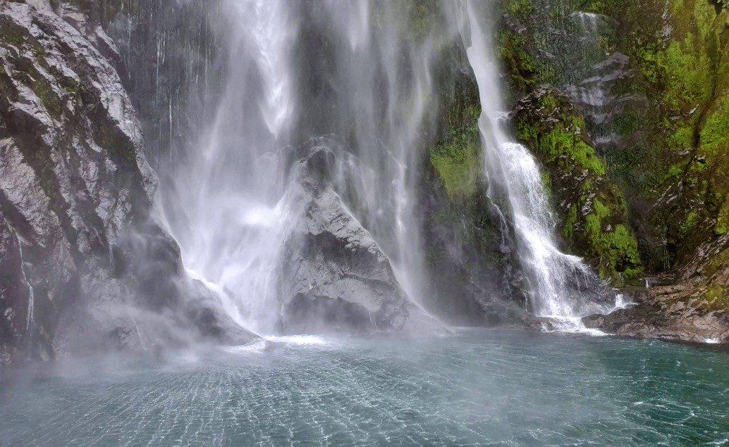 Pán prstenů Nový Zéland Stirling Falls