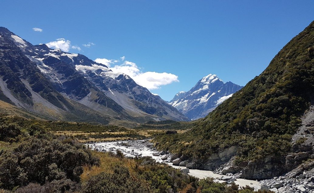 Pán prstenů Nový Zéland Mt Cook