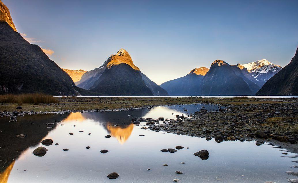 Zájezd Nový Zéland a Sydney Milford Sound