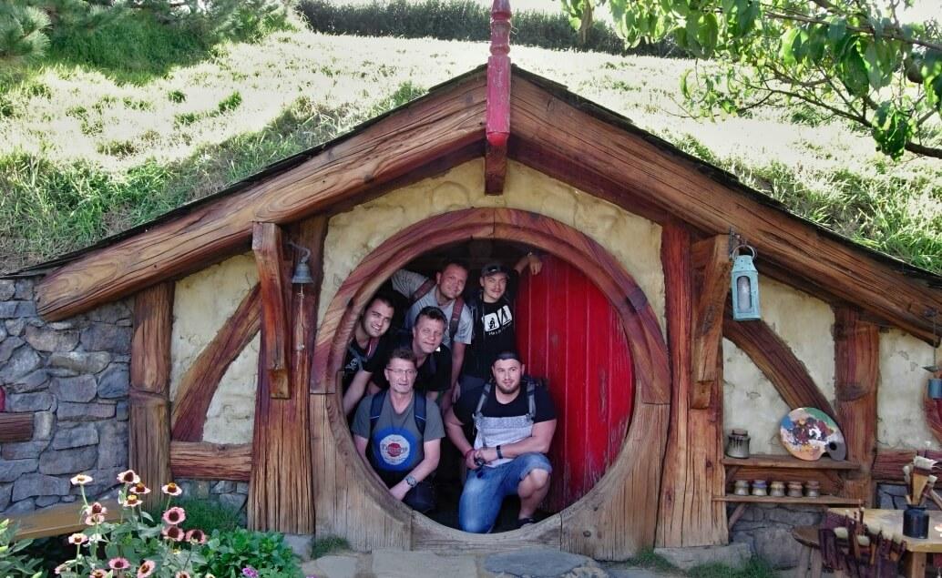 Nový Zéland aktivně pro mladé Hobitín
