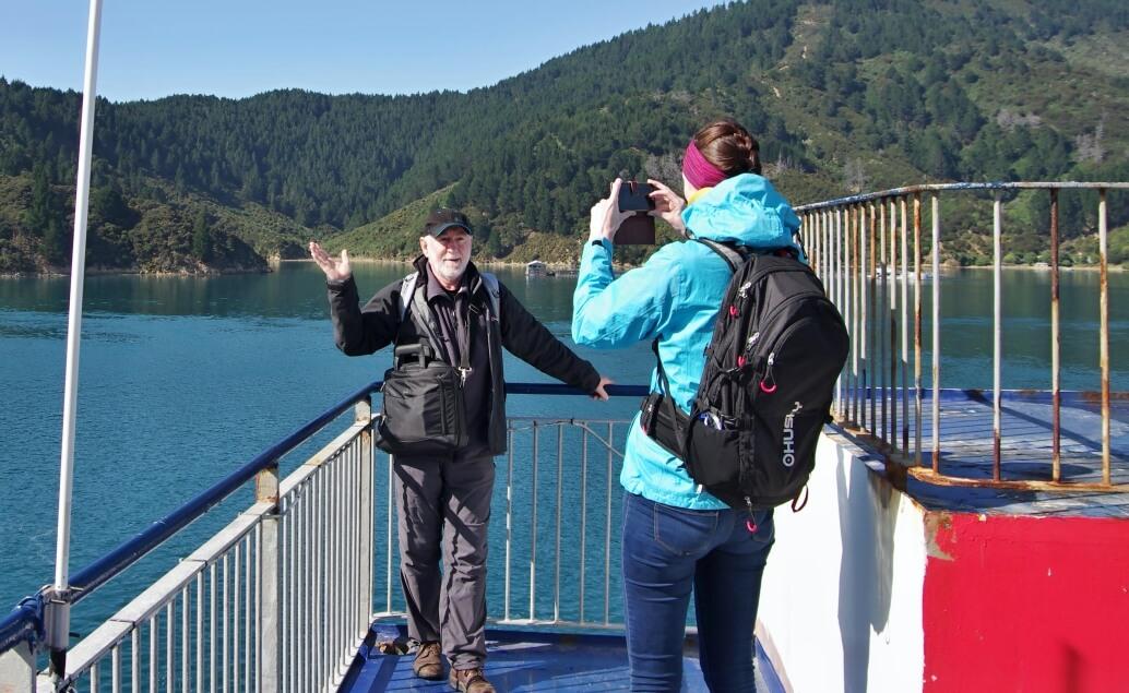 Nový Zéland aktivně pro mladé plavba