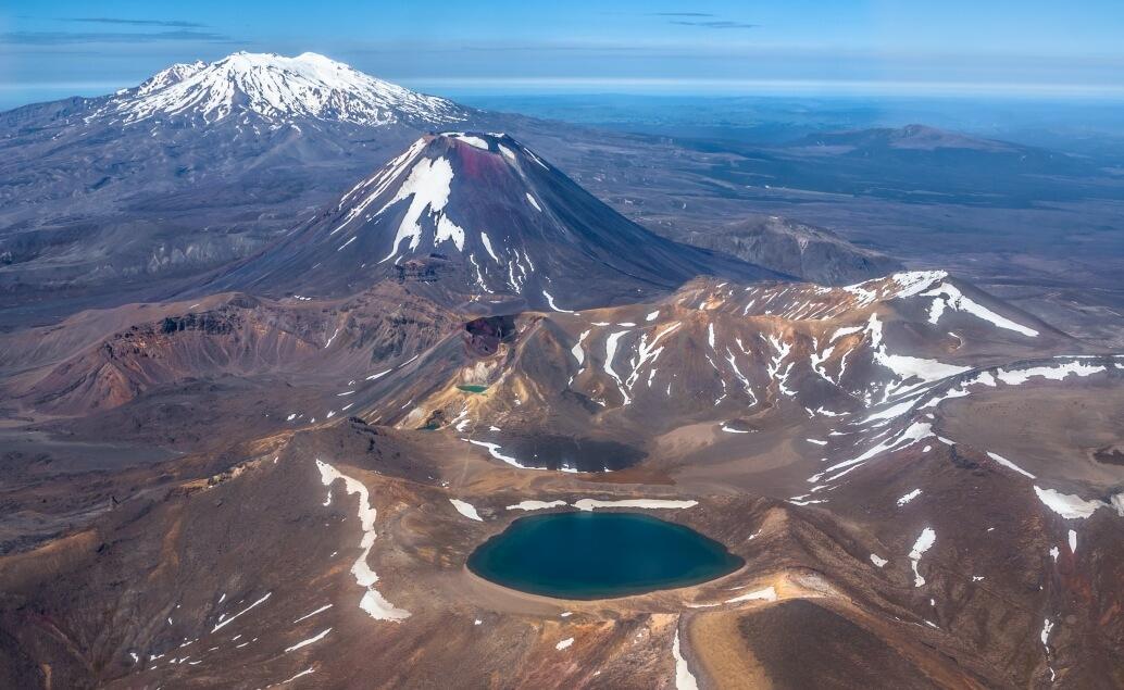 Nový Zéland aktivně pro mladé Tongariro Crossing