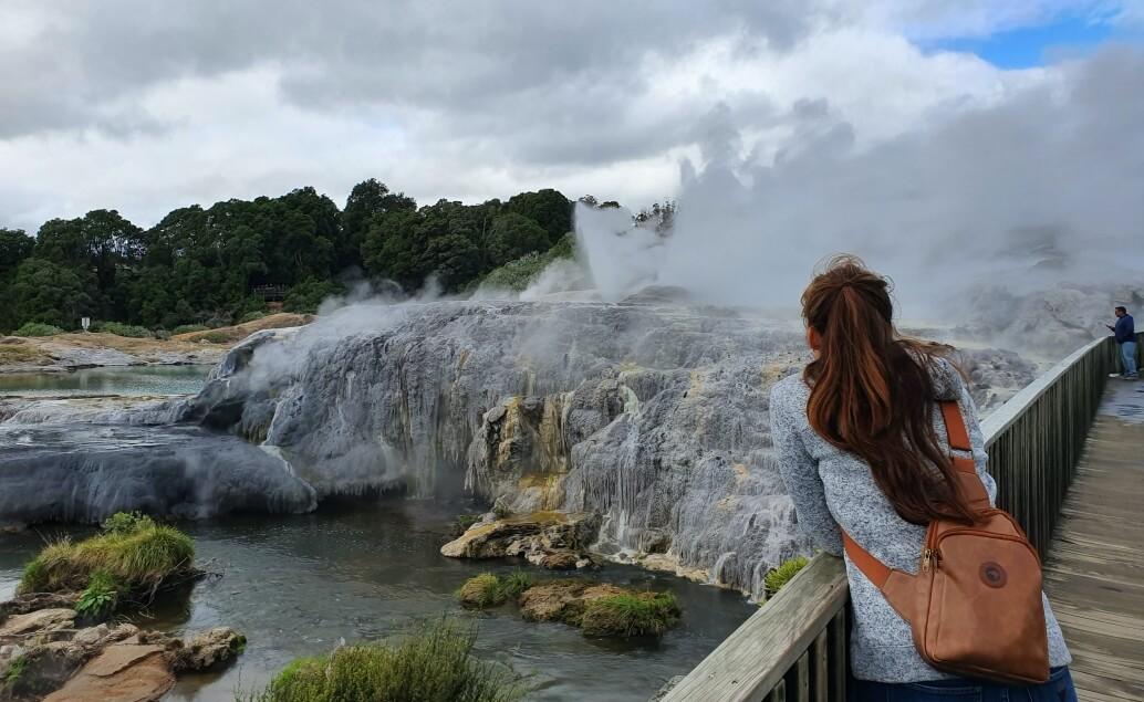 Nový Zéland aktivně pro mladé Te Puia