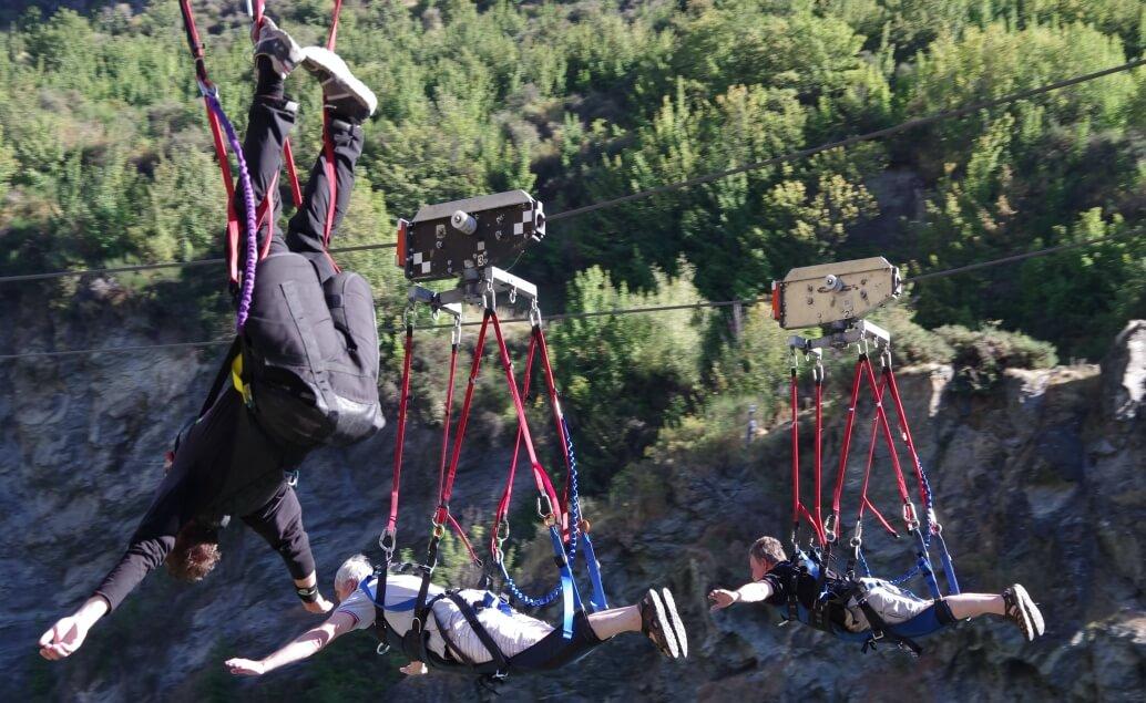 Nový Zéland aktivně pro mladé adrenalin