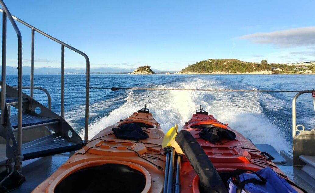 Nový Zéland aktivně pro mladé Abel Tasman kajak