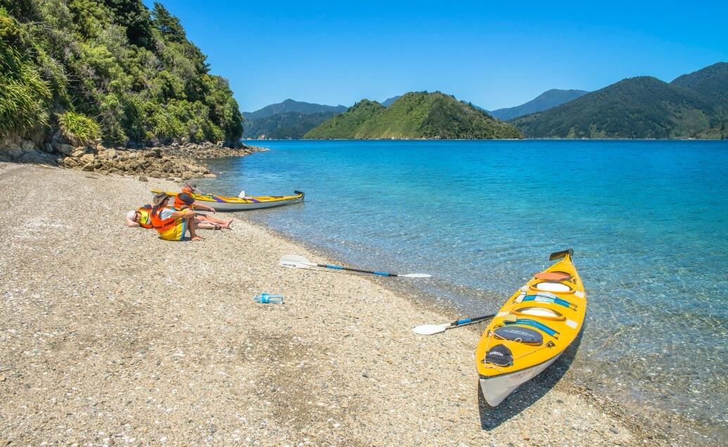 Nový Zéland aktivně pro mladé Abel Tasman