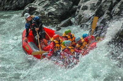 Rafting na řece Rangitata
